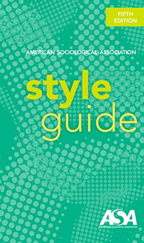 American Sociologcical Association Style Guide
