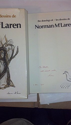 The Drawings of/Les Dessins de Norman McLaren (English and French edition): McLaren, Norman