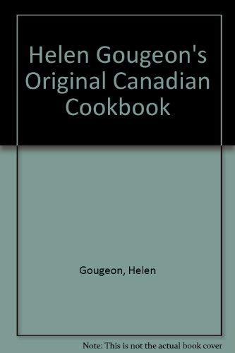 9780912766317: Helen Gougeon's Original Canadian Cookbook