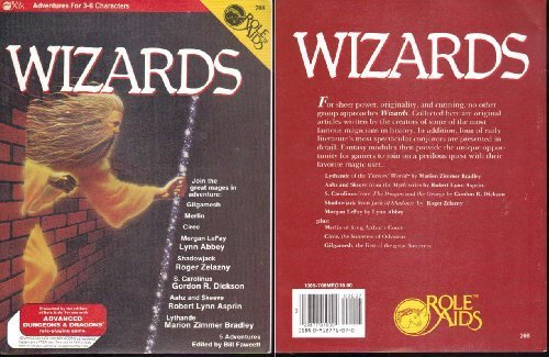 9780912771076: Wizards (AD&D/Role Aids Accessory)