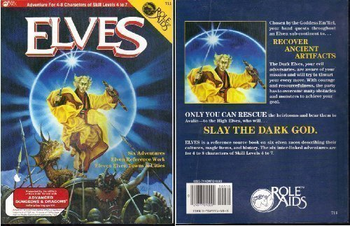 9780912771106: Elves (Role Aids / Advanced Dungeons & Dragons)