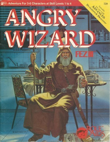 FEZ III, The Angry Wizard (Role Aids)