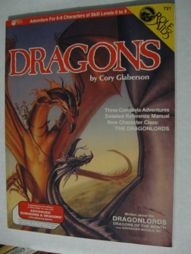 9780912771229: Dragons (Advanced Dungeons & Dragons: Role Aids)