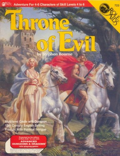 9780912771243: Throne of Evil (Role Aids / Advanced Dungeons & Dragons)