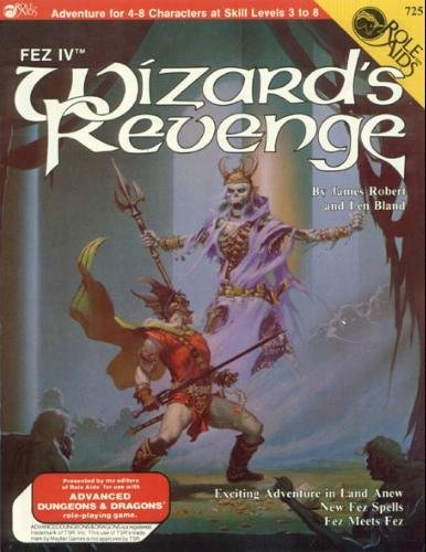 9780912771328: Wizard's Revenge (Role Aids for Advanced Dungeons and Dragons) [Paperback] by...
