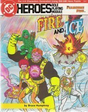 9780912771595: Fire and Ice (DC Heroes RPG)