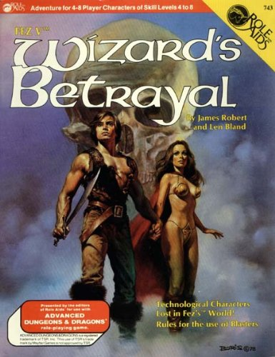 9780912771786: Wizard's Betrayal (Role Aids for Advanced Dungeons and Dragons) [Paperback] b...