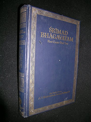 9780912776293: Srimad Bhagavatam: Canto 1, Pt.2