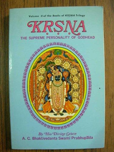 9780912776323: Krishna: v. 2: The Supreme Personality of Godhead