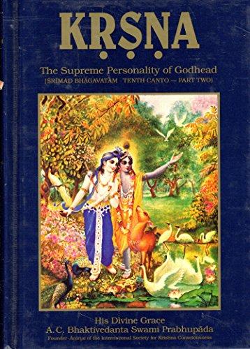 9780912776583: Krishna: v. 2: The Supreme Personality of Godhead