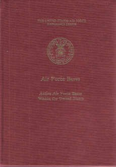 9780912799537: Air Force Bases (Reference Series)