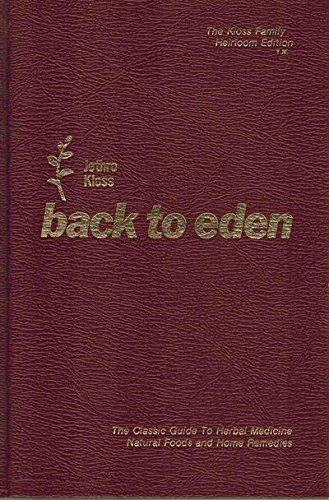 9780912800332: Back to Eden