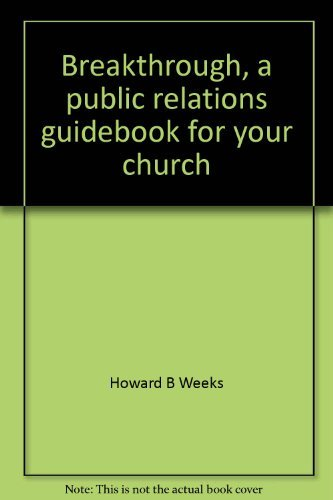 9780912800950: Breakthrough, a public relations guidebook for your church