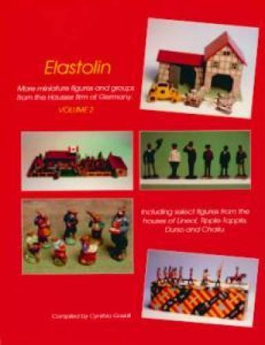 ELASTOLIN , More Miniature figures and groups from the Hausser firm of Germany . Including select ...