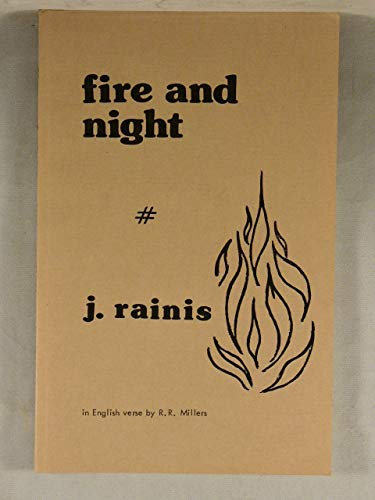 9780912852287: Fire and Night Latvias Most Famous Play by Her Greatest Poet Janis Rainis