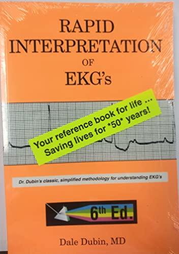 9780912912066: Rapid Interpretation of EKG's, Sixth Edition