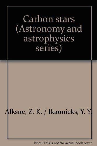 9780912918167: Carbon stars (Astronomy and astrophysics series)
