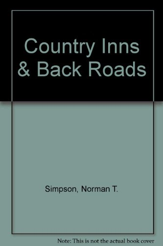 9780912944760: Country Inns & Back Roads