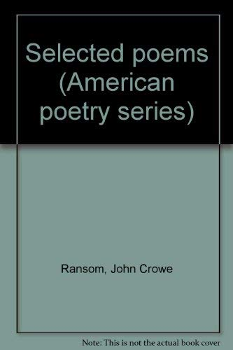 9780912946542: Selected Poems (American Poetry Series)
