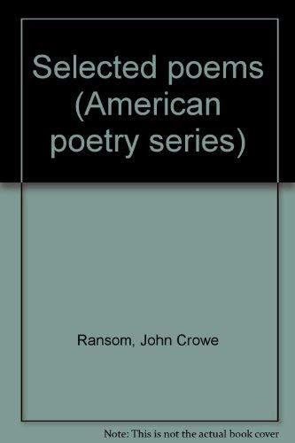 9780912946542: Selected Poems (American Poetry Series)