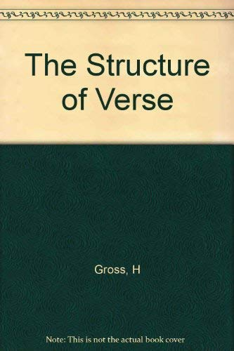 9780912946597: The Structure of Verse
