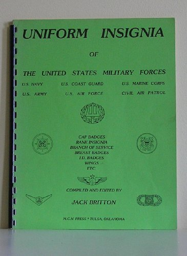 9780912958064: Uniform Insignia of the United States Military Forces