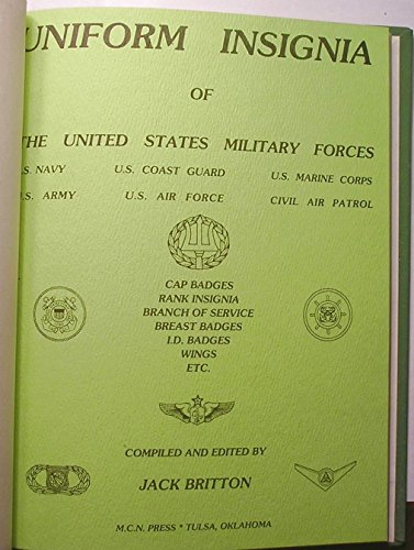 9780912958149: Uniform Insignia of United States Military Forces