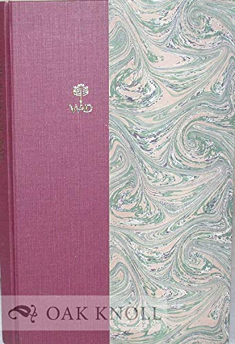 The Books of WAD, A Bibliography of the Books Designed By W.A. Dwiggins: Agner, Dwight