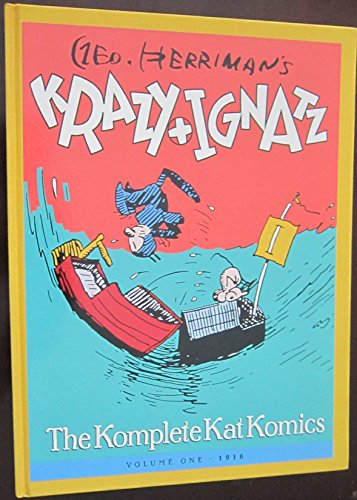 Krazy and Ignatz: Vol 1 1916 (The: Herriman,George. Intro,Bill Blackbeard