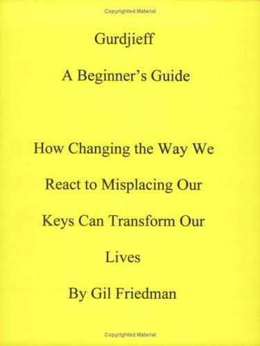 9780913038253: Gurdjieff: A Beginners Guide