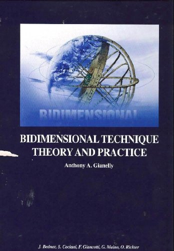 9780913062104: Bidimensional Technique Theory and Practice