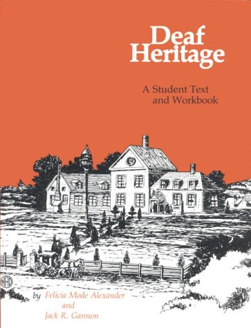 9780913072660: Deaf Heritage: Student Text and Workbook