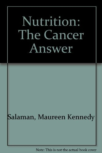 9780913087008: Nutrition: The Cancer Answer