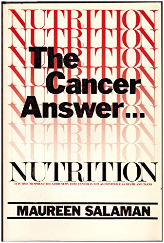 9780913087015: Nutrition: The Cancer Answer