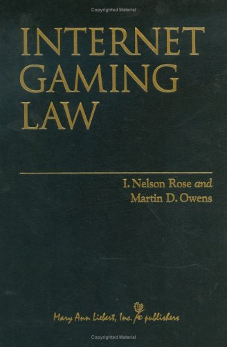 9780913113363: Internet Gaming Law