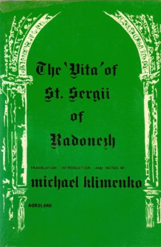 Vita of St Sergii of Radonezh: Klimenko, Michael