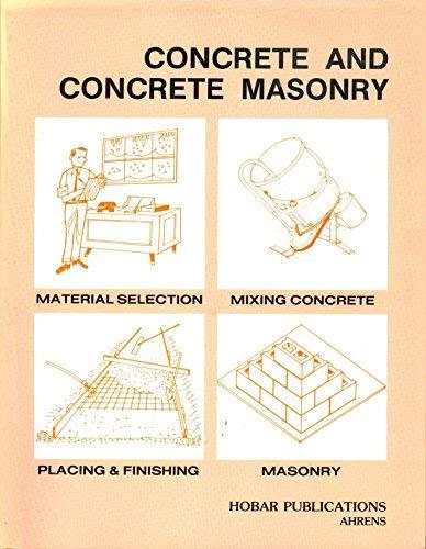 9780913163221: Concrete and Concrete Masonry