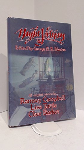 NIGHT VISIONS 3: Martin, George R. R. (editor). Ramsey Campbell, Lisa Tuttle and Clive Barker (...