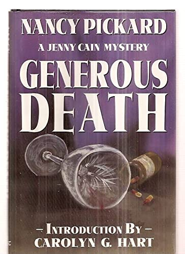 9780913165676: Generous Death (Jenny Cain Mysteries, No. 1)