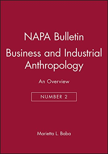 Business and Industrial Anthropology: An Overview (NAPA Bulletin)