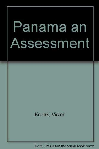 9780913187036: Panama an Assessment