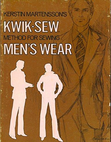 9780913212066: Kwik-Sew Method for Sewing Menswear