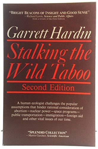 Stalking the Wild Taboo: Hardin, Garrett