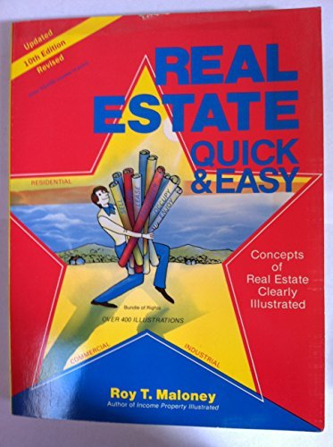 9780913257036: Real Estate Quick and Easy: Concepts of Real Estate Clearly Illustrated