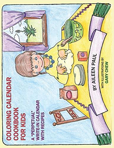 9780913270905: Coloring Calendar Cookbook for Kids