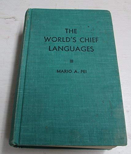 9780913298077: World's Chief Languages