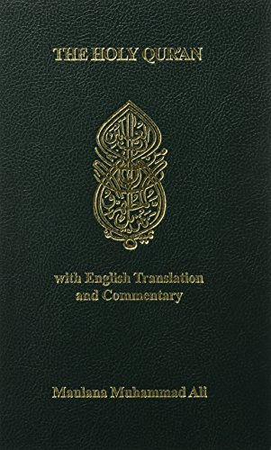 The Holy Qur'an (With English Translation and: Ali, Maulana Muhammad