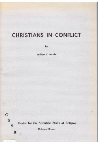 9780913348017: Christians in Conflict (Studies in Religion and Society Series)