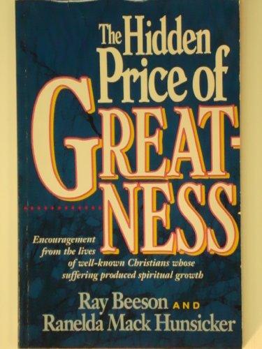 9780913367193: The Hidden Price of Greatness