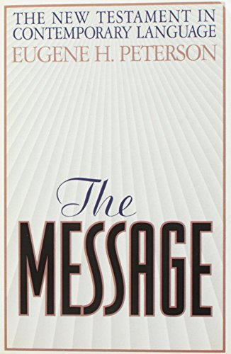 9780913367407: The Message : The New Testament in Contemporary English